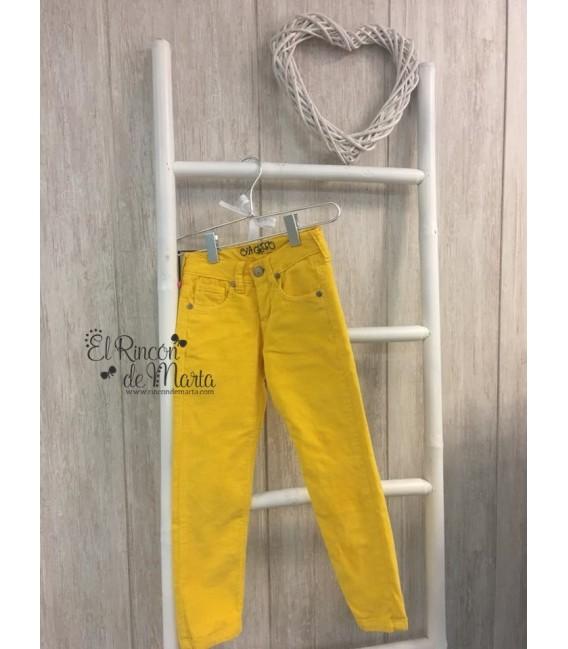 Pantalón Micropana Amarillo Niño