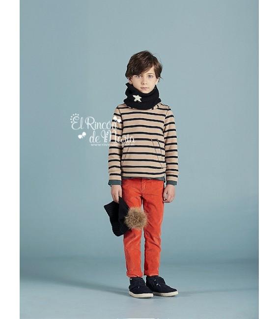 Pantalón Pana Naranja
