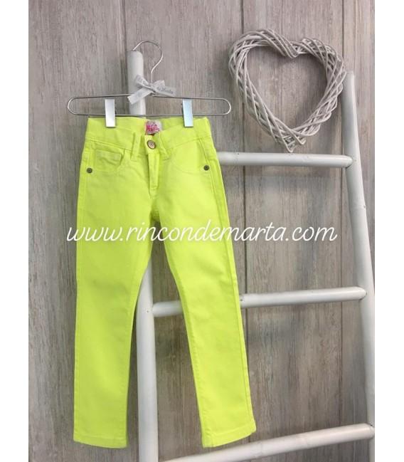Pantalón Amarillo Flúor