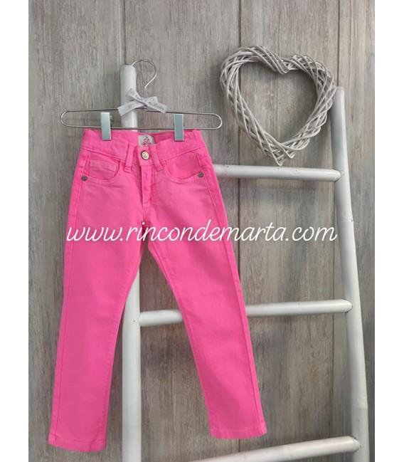 Pantalón Rosa Flúor