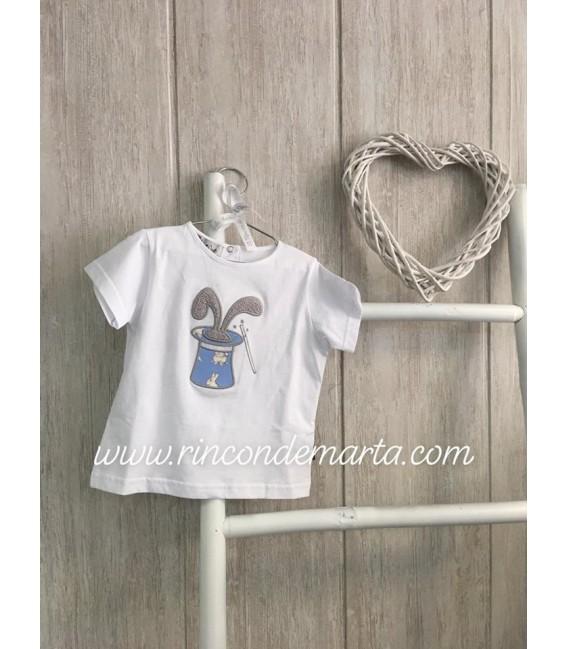 Conejito Camiseta Chistera