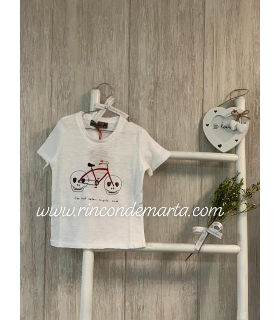 Camiseta Blanca Bici