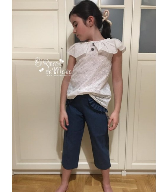 Pantalón Azul Jeans Denim