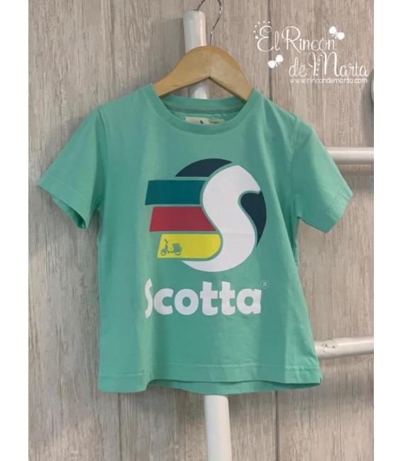 Camiseta Niño Fast Menta