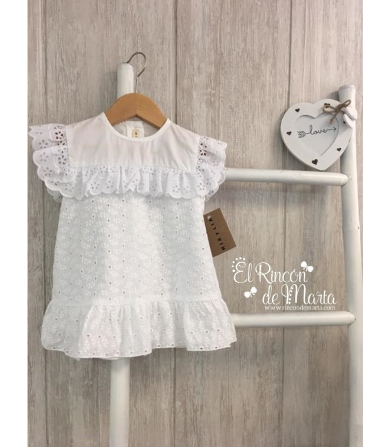 Blusa Blanco Bordado