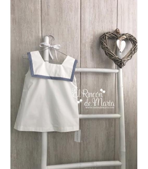 Blusa Blanco Vichy