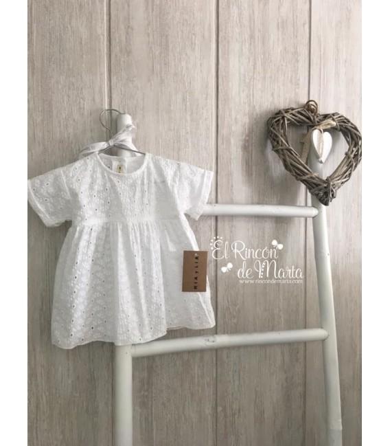 Blusa Blanco Calada Manga