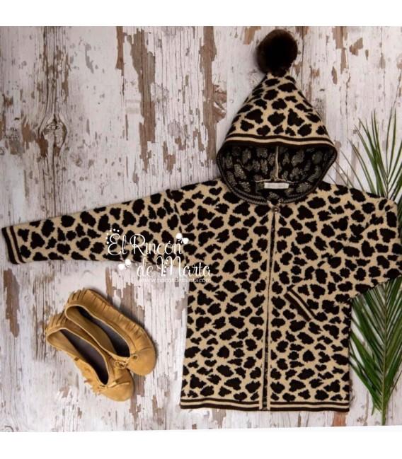 Chaqueta Leopardo con Capucha