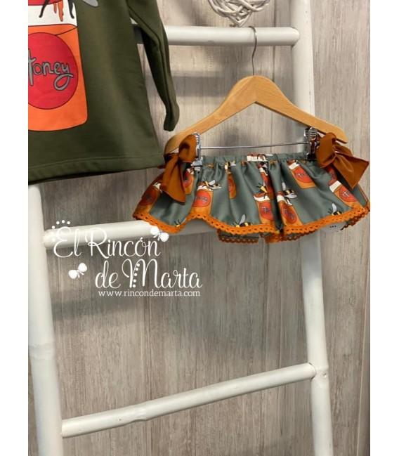 Braguita Volante Niña Verde Colección Tarros de Miel de Mon Petit Bonbon, Invierno 2020-21