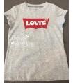 Camiseta Niña Gris Colección Verano 2021 de Levi's