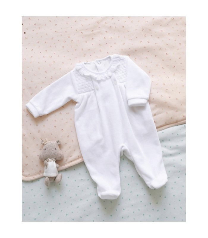 Pijama Unisex Snow Velvet Colección Baby de Mi Canesú, Invierno 2021