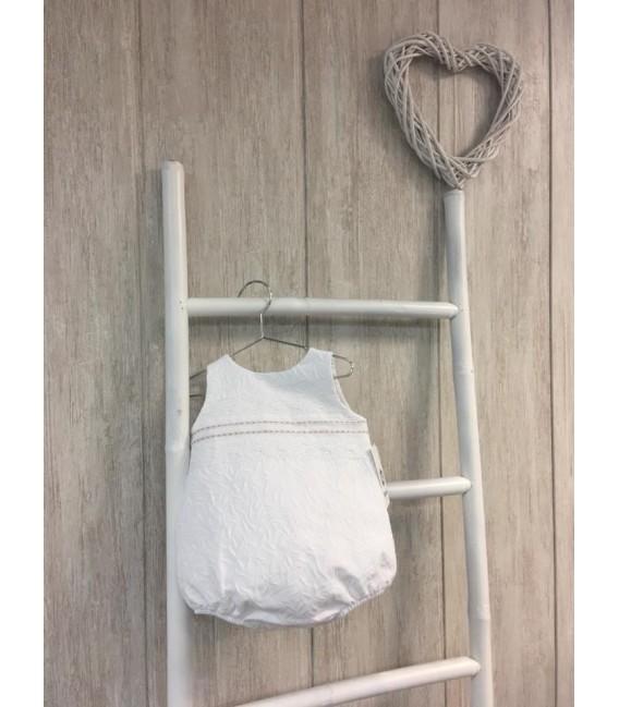Bebé Perla Pelele Blanco