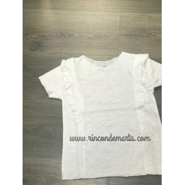 Camiseta Blanco manga corta