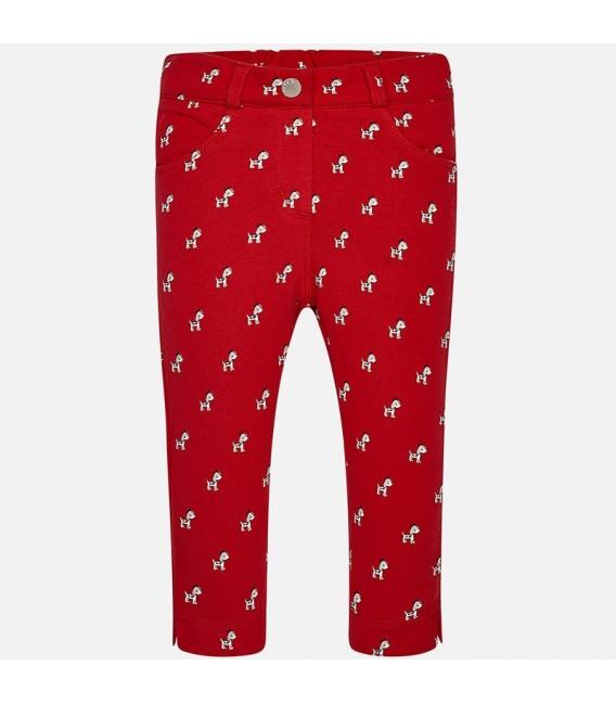Pantalón Legging Niña Rojo